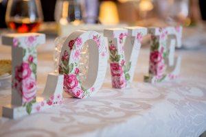 Letras para eventos y bodas en Tenerife