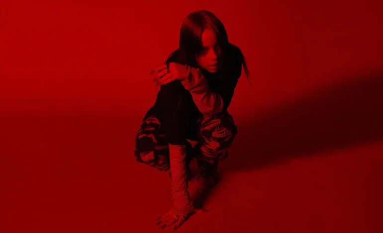 Billie Eilish shares intimate live bedroom performance of new song