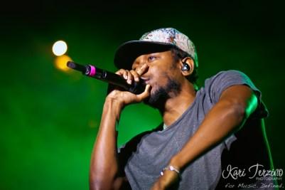 Kendrick Lamar at Pitchfork