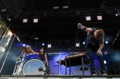 Matt & Kim at NCMF 2016 by Sarah Hess