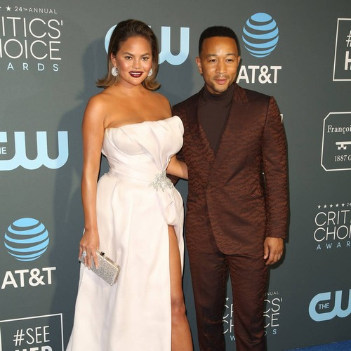 Chrissy Teigen & John Legend Had 'major' Fight At Kim Kardashian's Wedding