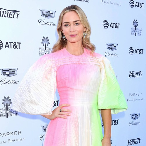 Emily Blunt Admits Rihanna Is Her Ultimate Girl Crush