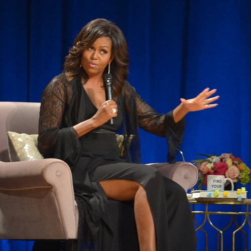 Michelle Obama Honours Missy Elliott At Songwriters Hall Of Fame Induction
