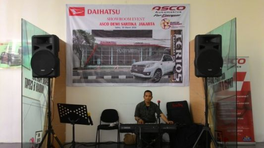 Sewa Organ Tunggal di Jakarta Showroom Event Daihatsu