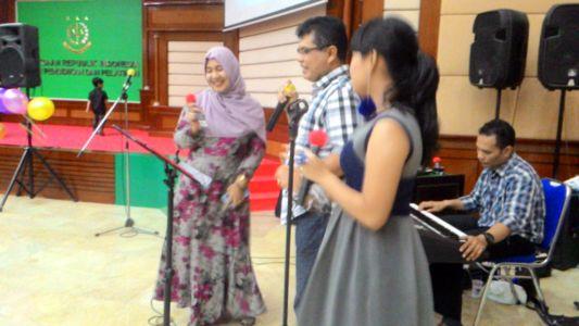 Sewa Organ Tunggal Acara Pelepasan PPPJ Kelas 14 Badan Diklat Kejaksaan Agung Jakarta RI
