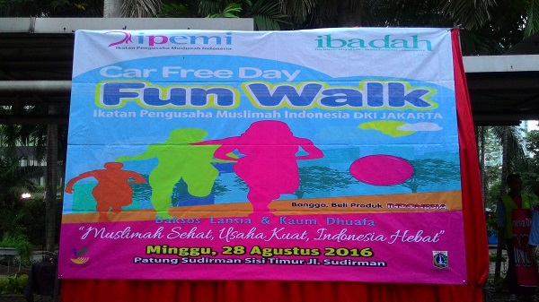 Sewa Organ Tunggal Car Free Day Jakarta Fun Walk IPEMI