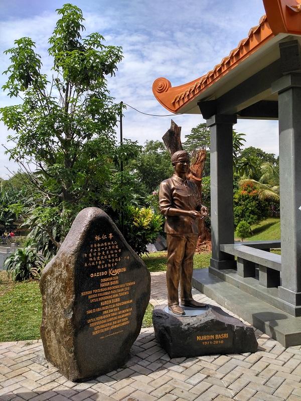 Peresmian Patung Nurdin Basri & Gazebo Karebosi di Taman Budaya Tionghoa TMII