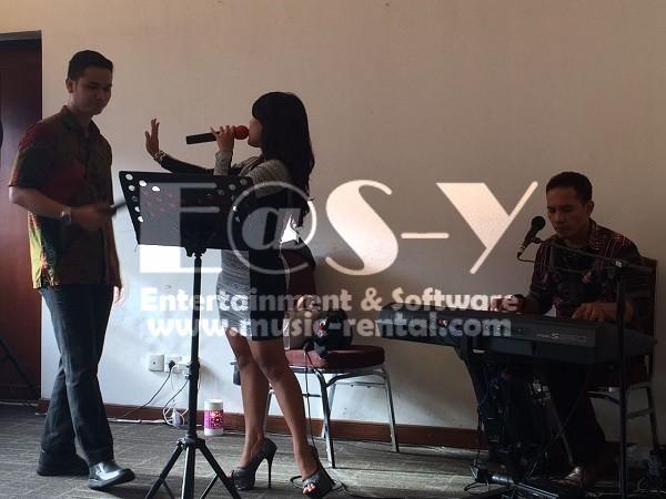 Sewa Organ Tunggal Gathering Perusahaan PT. Asuransi Jasindo Persero Jakarta