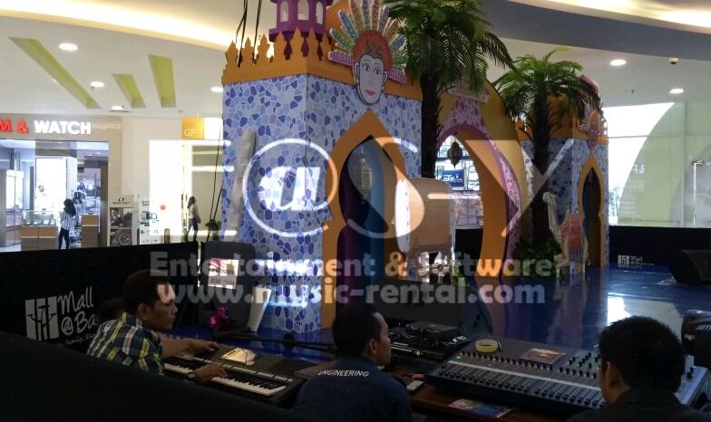 Sewa Organ Tunggal Fashion Show Di Mal Bassura City