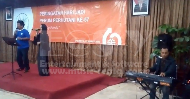 Sewa Organ Tunggal HUT Perhutani ke-57 tahun Easy Entertainment