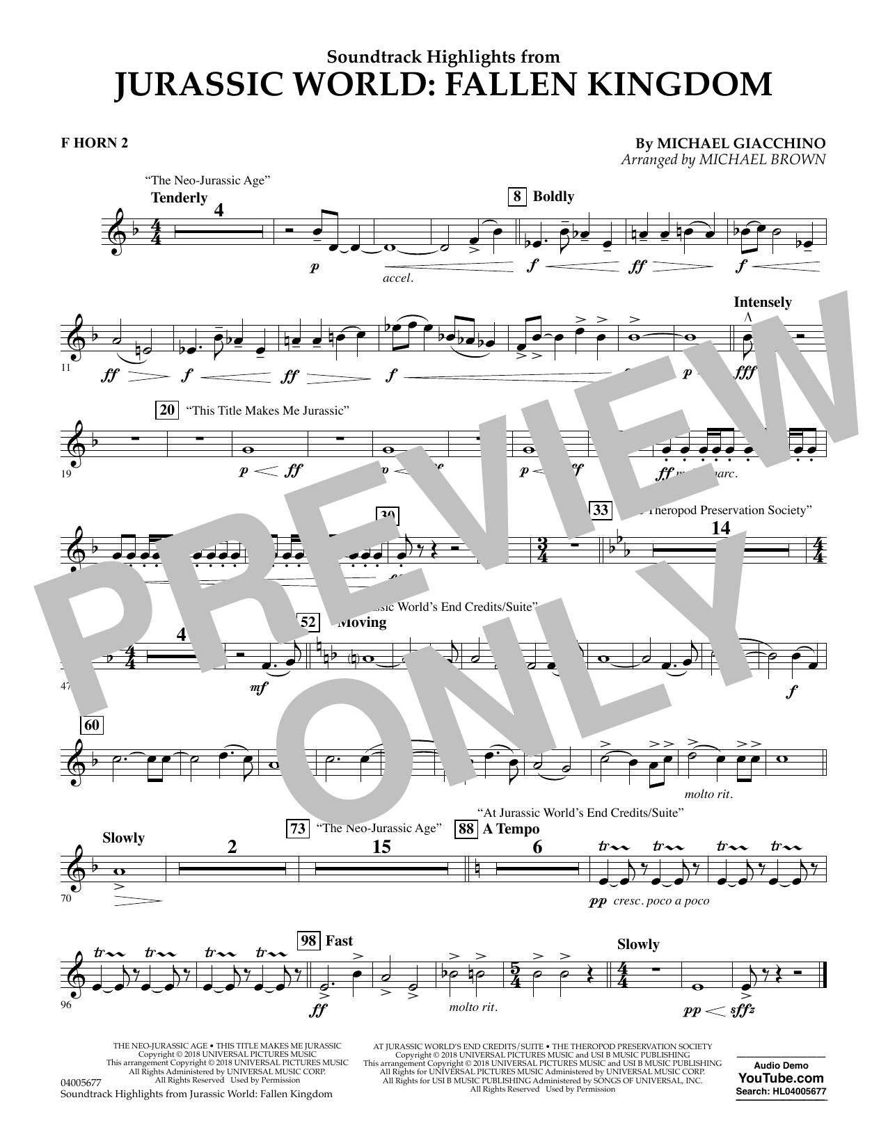 Fallen Kingdom Chords : fallen, kingdom, chords, Michael, Giacchino,
