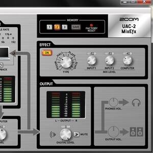 UAC-2 ソフトウェア
