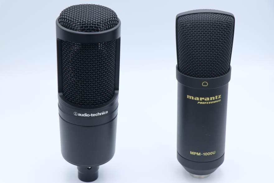 MPM-1000UとAT2020