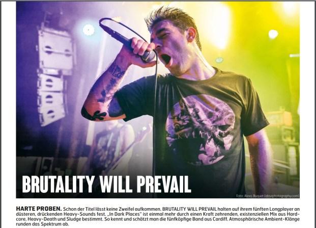 Brutality Will Prevail, Fuze Magazin 63 APR/MAY 17, http://fuze-magazine.de