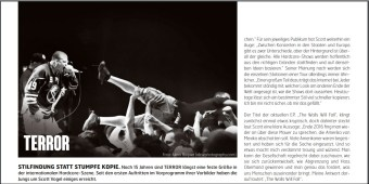 Terror, Fuze Magazin 64 JUN/JUL 17, http://fuze-magazine.de
