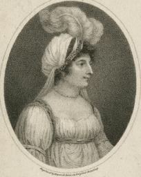 Figure 3. Portrait of Elizabeth Billington (1801)