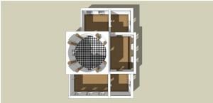 Diagram of ground floor