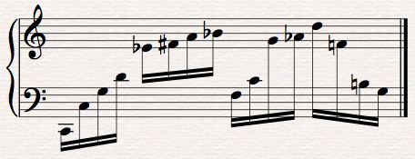 Algorithmic Composition: Analysis of Some Patterns