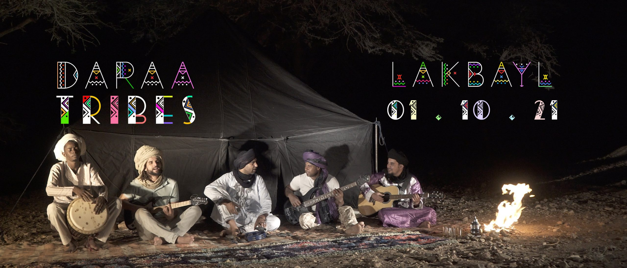 LAKBAYL, DARAA TRIBES   RELEASE 1st OCTOBER 2021