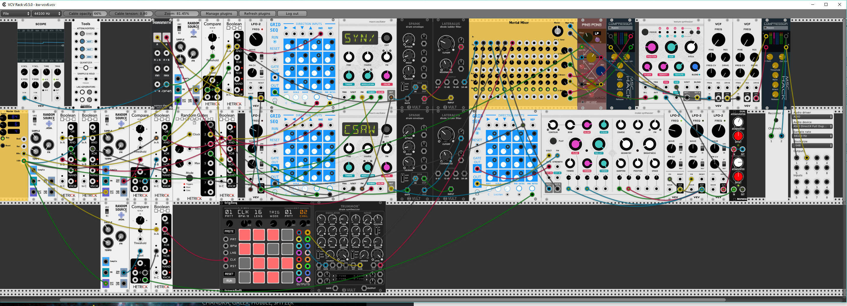 The Discrete Charm Of The VCV Rack – Do My Eyes Look Scary?