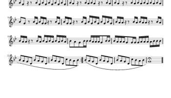 Bury a Friend Violin Sheet Music | Free Sheet Music