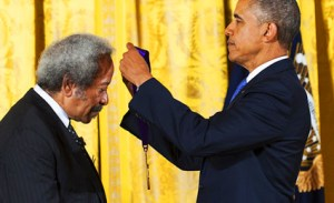 Allen Toussaint & Barack Obama