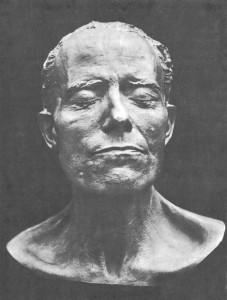 Photo: Mahler Death Mask