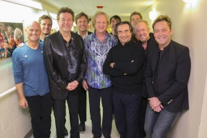 From left to right: Tris Imboden, Jason Scheff, Walt Parazaider, Robert Lamm, Lee Loughnane, Walfredo Reyes, Jr., Riccardo Muti, Keith Howland, James Pankow, Lou Pardini.     Photo: Todd Rosenberg Photography