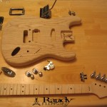 Guitar #3 Before Assembly