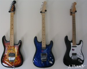 Three Guitars