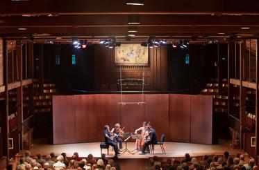 Brentano Quartet in the Music Shed, Norfolk Festival