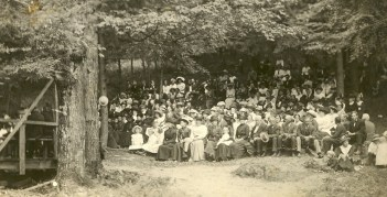 Camp meeting в Арене (ранее Ламбервиль) (штат Нью-Йорк) (к. XIX в.?)