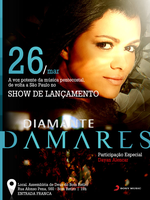 DIAMANTE DAMARES BAIXAR GRATIS DE GOSPEL CD