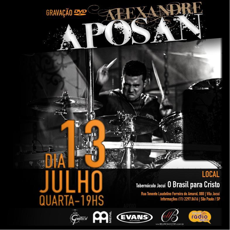 DOWNLOAD COMPLETO DVD GRATUITO ALEXANDRE APOSAN