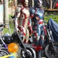 Primeras imágenes de Iron Man 3, Robert Downey Jr. con armadura que controla 40 trajes de Iron Man