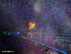 Confettis and Big, Big, Balloons