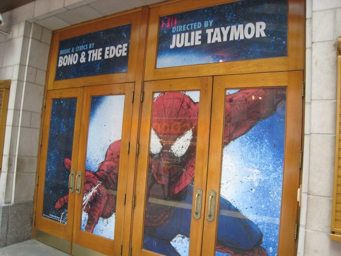 Spider-Man: Turn Off the Dark on Broadway