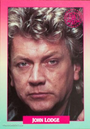 John Lodge, bass player for the Moody Blues. Smile John!
