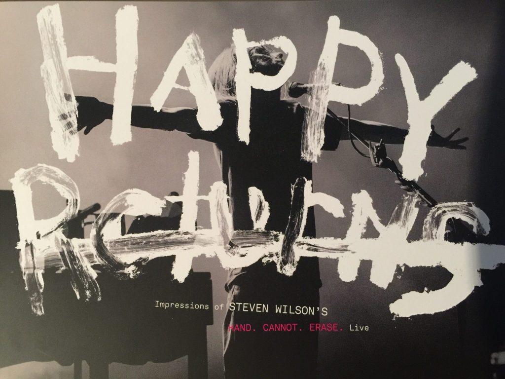 Steven Wilson tour program