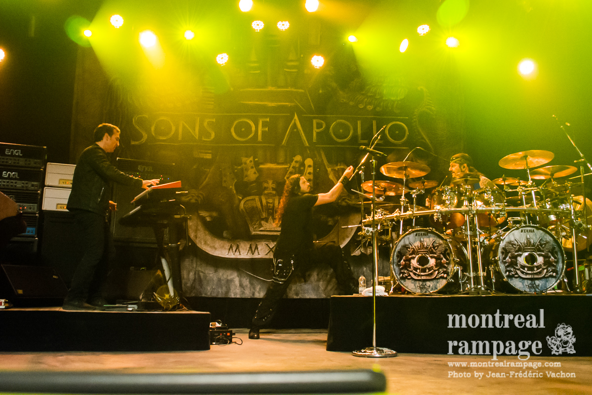 Concert review: Sons of Apollo - Corona Theatre, Montreal - April 19th 2018