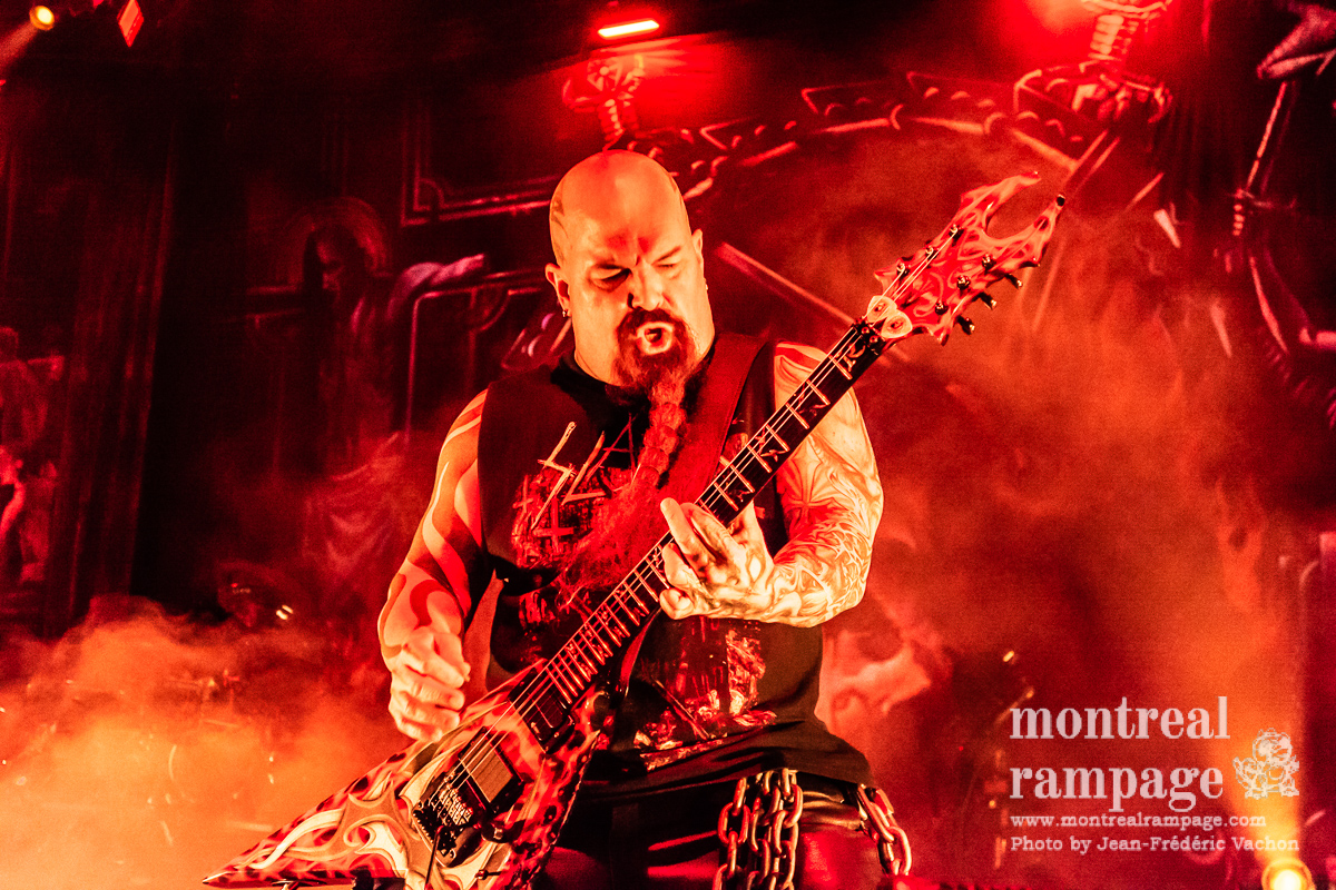 Concert review: Slayer - Place Bell, Laval - May 30th 2018