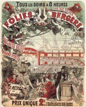 Cartel propagandístico de Cheret.