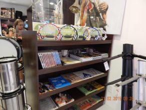 Uma das áreas da loja