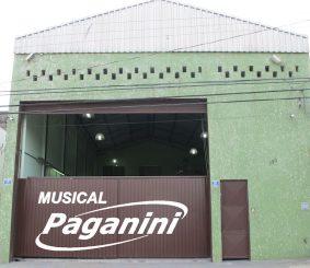 A fábrica de 300 m²