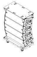 Line array JBL a12