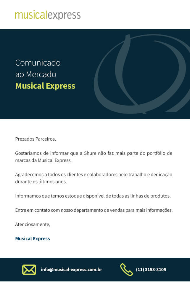 Comunicado ao Mercado_Musical Express