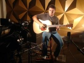 Gravação violão