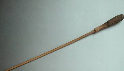 FFA195932 Gustav Mahler's (1860-1911) baton (wood) by Austrian School, (19th century) wood Private Collection Austrian, out of copyright