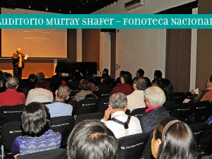 Auditorio Murray Shafer – Fonoteca Nacional