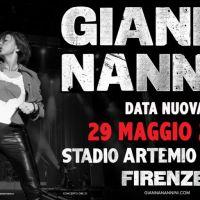 GIANNA NANNINI -posticipato al 29 maggio 2021 il live speciale allo Stadio Artemio Franchi di Firenze